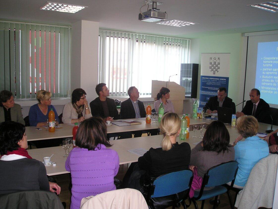 Prezentacija Programa poticanja obrazovanja i obuke kadrova u ugostiteljstvu