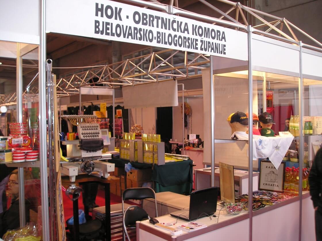 Štand Obrtničke komore Bjelovar
