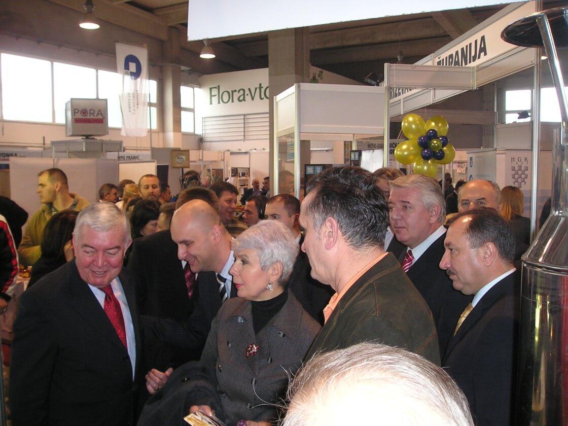 posjet potpredsjednice Vlade RH Jadranke Kosor štandu OK BBŽ