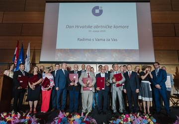 Hrvatska obrtnicka komora obiljezila svoj dan urucenjem priznanja obrtnicima large